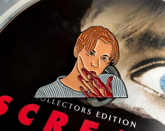 Corn Syrup - Soft Enamel Pin - SCREAM Wes Craven - Billy Loomis Horror Pin