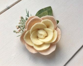 L I L Y| flower headband | felt headband | felt flower headband | WickedLittles
