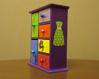"""Mini chest of drawers """"Small joys"""""""