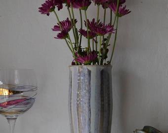 Vintage Stoneware Studio Pottery Vase boho/earthy/ceramic/decor