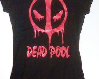Deadpool Women's T-Shirt Size Small