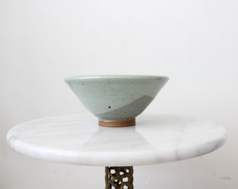 Studio Pottery Bowl | Handmade Nut Bowl | Hand Thrown Candy Dish | Cereal Bowl | Handmade Dishware | Blue Bowl | Studio Art