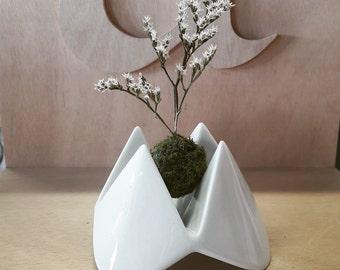 EGG bowl porcelain - Made in France - hand made