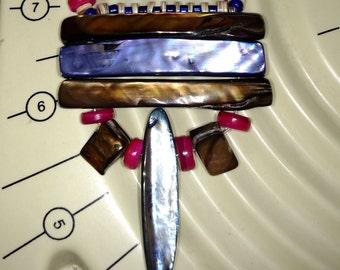 Handmade Spiritual Russian Healing Goddess Necklace