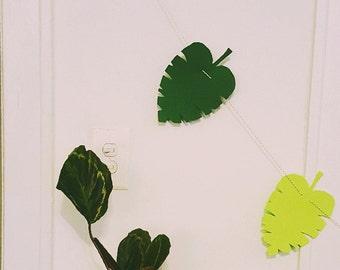 Jungle Leaf Garland
