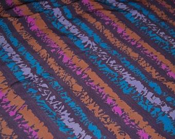Vintage fabric Bill Blass apparel stripe fabric Skinner Couture 90s fabric