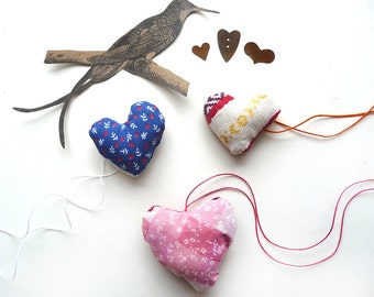 Handmade Hearts Retro Valentines Gift Folk Primitive Art (3)