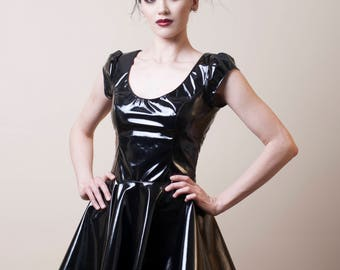 PVC Skater Dress-Made to Measure (Your Size)