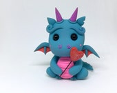 """LittleLazies """"My Heart Burns for You"""" DRAGON 