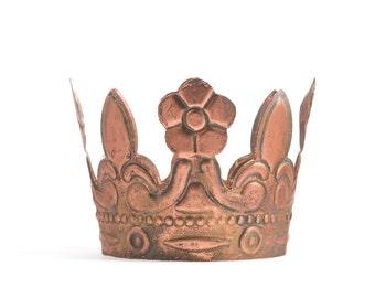 Crown Cake Topper, Rose Gold Crown, Mini Crown, Wedding Cake Topper