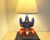 Nintendo N64 Desk Lamp - Console and Controllers - N64 Light Sculpture With Lamp Shade
