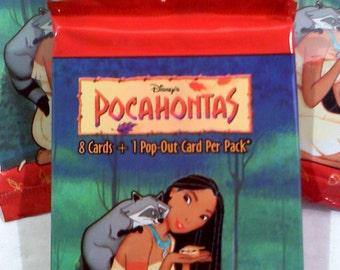 Disney's POCAHONTAS Trading Cards