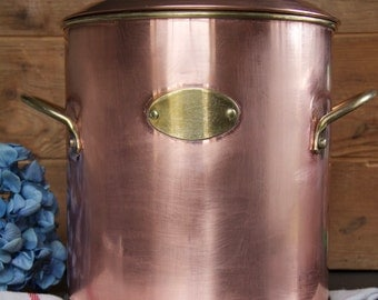 Vintage Copper Ice Bucket