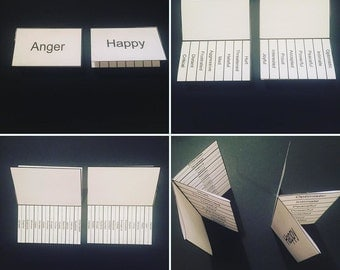 Emotion Cards for building & sharing words in design and UX research