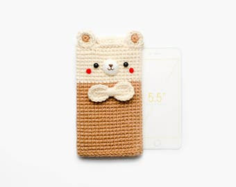 Crochet Bear No.1  iPhone 7 plus Case / Cell Phone Case
