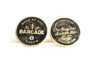 255: Barcade tokens CuffLinks