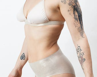 Invisible tanga high waisted in technical fabrics, Women's Clothing, cheeky panties, panties, yoga Clothing, gift women