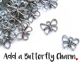 Add a Butterfly Charm