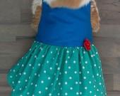 Turquoise Rabbit Dress