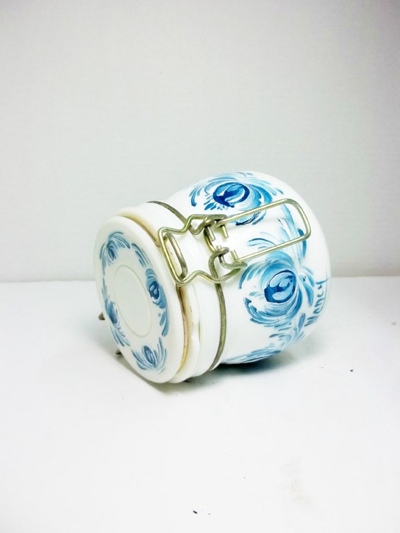 kitchen canister blue and white kitchen storage hand blue and white peony ancestor jar transitional kitchen