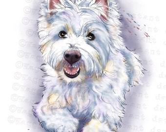 Westie png | Etsy