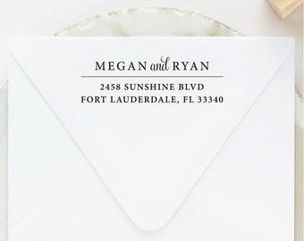 Self Inking Return Address Stamp, Return Address Stamp, Address Stamp, Custom Address Stamp, Wedding Stamp