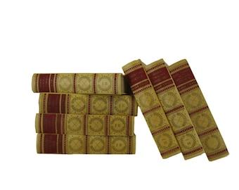 Farmhouse Decor, Mark Twain Books, Home Decor,  Yellow Books, Decorative book,  Book Decor, Book Wedding, Old Books