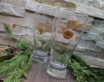 Bullet Beer Pub Glasses 19oz, 12GA, Winchester or Remington, Bullet Beer Glasses, Bullet Glasses, Bullet Pilsner Glasses, Fathers Day