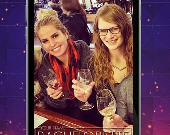 Classy Bachelorette Party Snapchat Filter / Geofilter
