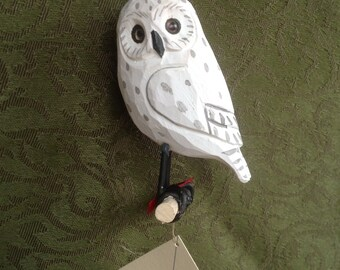 Wooden Hedwig