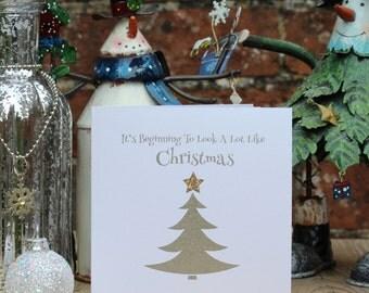 Fun Xmas Cards, 30 Card Set, Xmas Boxed Set, Seasonal Cards, Christmas Card Set, Cute Christmas Cards, Silent Night, Holiday Cards, Santa.