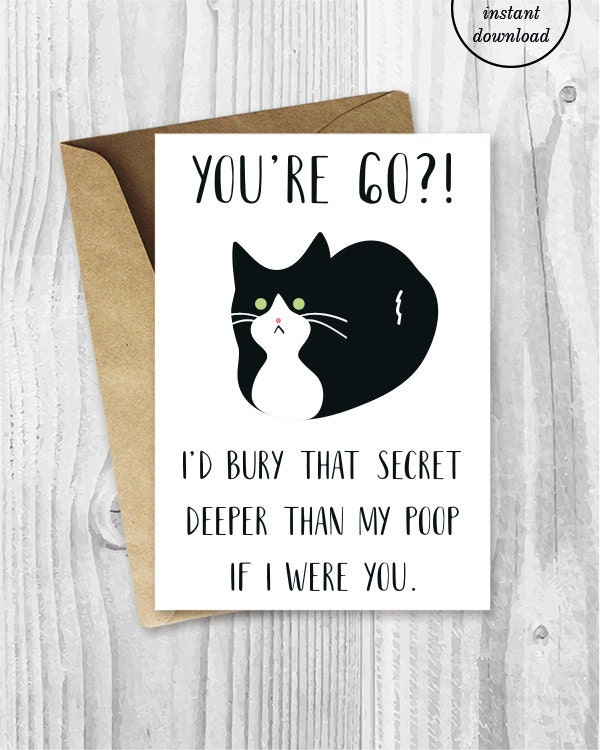 Sayings For 60th Birthday Card: Printable 60th Birthday Cards Funny Tuxedo Cat 60 Birthday