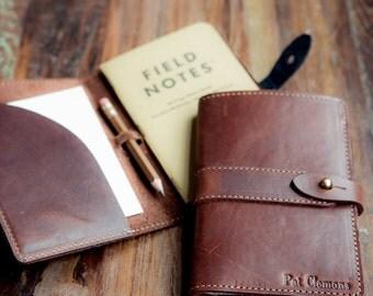 Personalized Groomsmen Gift - The Surveyor Fine Leather Pocket Journal - Groomsmen Gifts - Wedding Party Gift - Best Man Gift - Journals