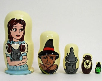 5p Russian Nesting Doll WIZARD OF OZ