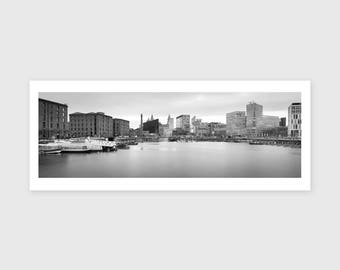 Salthouse Dock Panoramic, 2017 --- Signed/Free Postage