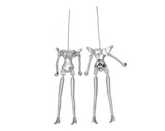 2 charms dolls Articulees with wings on the back