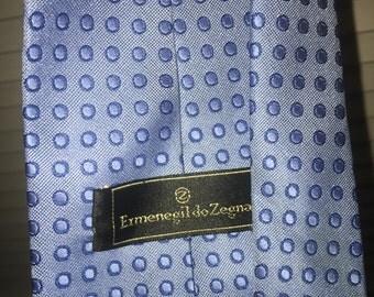 Ermenegildo Zegna tie - men's vintage Italian necktie - retro