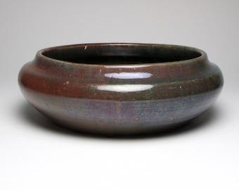 Antique Arts and Crafts Reginald Wells Coldrum studio pottery bowl