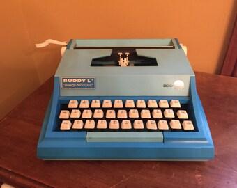 Vintage Buddy L Typewriter/Buddy L Easy-Writer 200/Vintage Children's Typrewriter