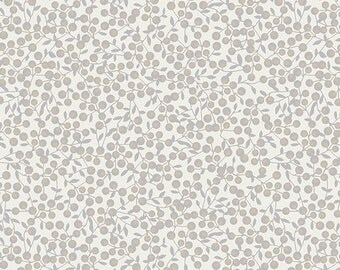 SALE!! 1 Yard Blithe by Katrina Roccella for Art Gallery Fabrics- 75609 Winterberries Snow