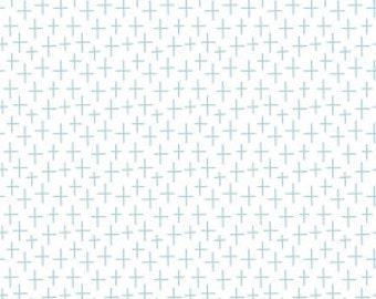 SALE!! 1 Yard Creative Rockstar by Rad and Happy for Riley Blake Designs - 5814 Surfing Aqua