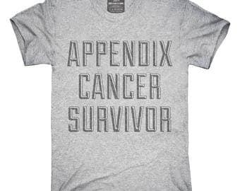 Appendix Cancer Survivor T-Shirt, Hoodie, Tank Top, Gifts