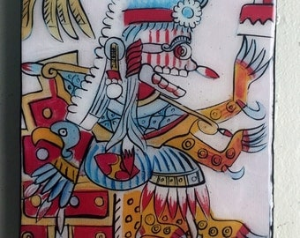 Mictlantecuhtli on his Throne