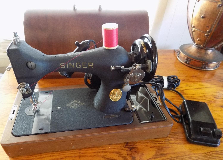 Singer sewing machine electric singer aj256959 model 128 for Singer sewing machine motor controller
