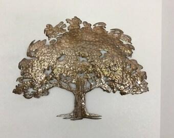 Oak Tree  -  Metal Tree Art  - Wall Art