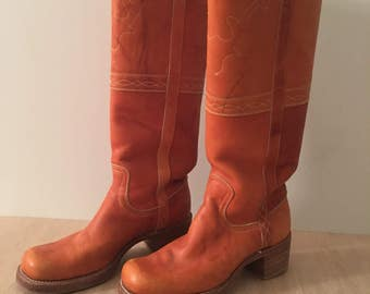 Frye Vintage Campus Boots   Women's size 8 - amazing condition!