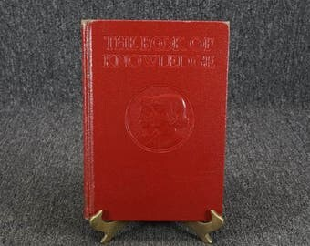 The Book Of Knowledge Volume 20 C. 1943