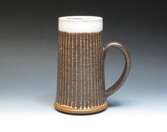 Jack Herman Stoneware Mug, Canadian Icons Jack and Lorraine Herman, Studio Pottery Mug, Hand Thrown Pottery Mug