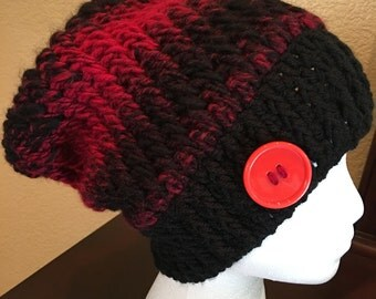 Slouchy hat adult size (Custom sizes made to order)