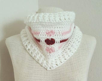 Love Me Tender Cowl Crochet Pattern *PDF DOWNLOAD ONLY* Instant Download